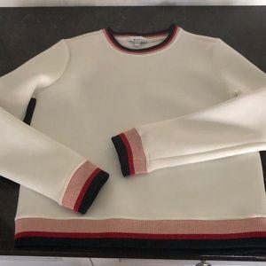 White NWOT Neoprene Sweatshirt